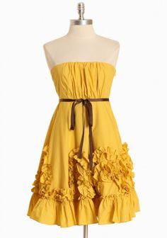 Esperanza Rising Ruffle Dress  $89.99
