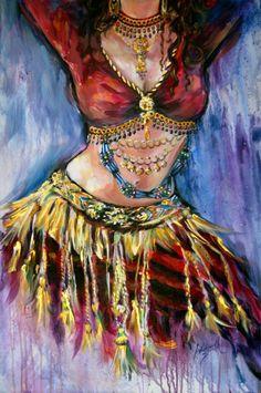 Belly Dance Art | Wadsworth Smith Art