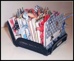 Crafty Girls Workshop...: Rolodex turned Birthday Calendar!