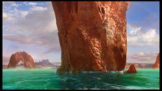 Desert Lands , Hernan Flores on ArtStation at https://www.artstation.com/artwork/egA4D