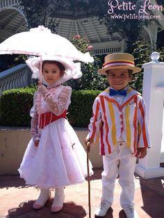 Mary Poppins Jolly Holiday costumes