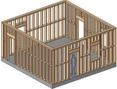 REVIT Rocks !: REVIT Wood Framing Walls Extension