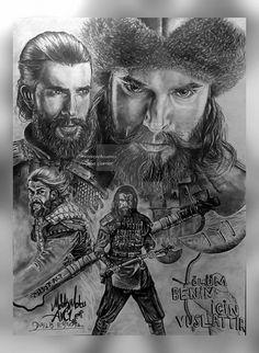 Cengiz CoSkun pencil drawing by melekmaya on DeviantArt Pencil Art Drawings, Cool Drawings, Art Sketches, Charcoal Drawings, Empire Wallpaper, Batman Wallpaper, Beautiful Series, Basic Drawing, Diy Canvas Art
