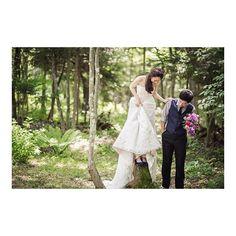 キャプション→* Good morning! Have a wonderful day today too. * #weddingday#weddingdress #weddingphotography #weddingparty #wedding #weddingflowers #karuizawa#love#軽井沢#軽井沢ウェディング#花嫁 #森#森の花嫁#前撮り#ウェディングフォト#フォトウェディング#ウェディングアイテム #ガーデンウェディング#ウェディングシューズ#marryアプリ掲載応募 #marry#ブライダルヘア #プレ花嫁#2016wedding ユーザー→chi.0521 場所→
