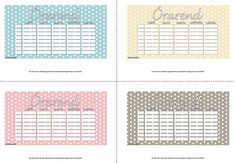 time table Filofax, Back To School, Bullet Journal, Printables, Fonts, Scrapbooking, English, Google, Creative Ideas