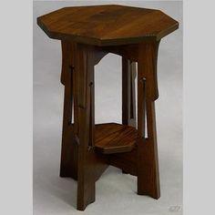 Dryad End Table / Nightstand #1 by Michael, Judy, Alana, Jennifer, & Christopher Schmitt