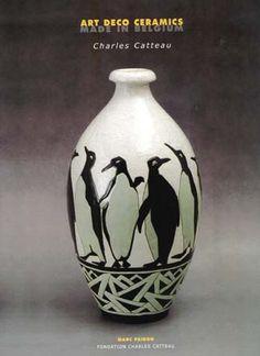Charles Catteau  Art Deco Ceramics  1929
