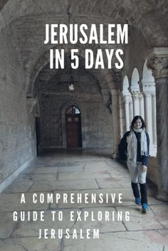 How to Spend 5 days in Jerusalem - Perfect itinerary for first time travelers to Israel. Covering best things to do and top attractions in the holy city.  #Jerusalem #Israel #Traveltips #Itinerary