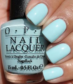 Great polish, long lasting and a Beautiful shade of blue❤