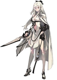 Drakengard 3 Art & Pictures ★ || CHARACTER DESIGN REFERENCES (www.facebook.com/CharacterDesignReferences - pinterest.com/characterdesigh) • Do you love Character Design? Join the Character Design Challenge! (link→ www.facebook.com/groups/CharacterDesignChallenge) Share your unique vision of a theme every month, promote your art, learn and make new friends in a community of over 16.000 artists who share your same passion! || ★