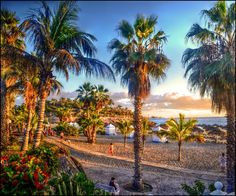 Evening beach in Costa Adeje, #Tenerife