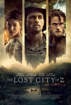 The Lost City of Z (2016) movie #poster, #tshirt, #mousepad, #movieposters2