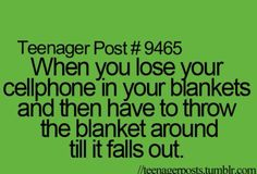 Then it falls on the floor and you have to get out of your comfy bed and get it