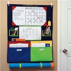 Over-the-door Homework Organizer | Lillian Vernon - Kids Organization | Lillian Vernon