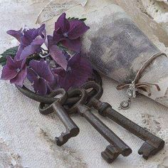 Made me think of Dad's old keys!