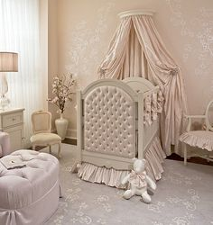 Luxury Baby Nursery & Children's Furniture Trade Only Baby Bedroom, Baby Room Decor, Nursery Room, Baby Bedding, Girl Nursery, Nursery Ideas, Room Ideas, Girl Bedrooms, Nursery Inspiration
