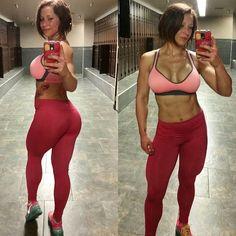 "the-training-room: ""@fitbody_britt https://instagram.com/p/0vh7XGCDZa/ That #buttsweat tho… leg day done right  """
