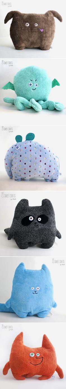 Soft Plush Pillows | Мягкие плюшевые подушки-игрушки — Купить, заказать, подушка, игрушка, животное, плюш