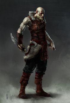 spassundspiele:  Viking Assassin – fantasy character concept by Steve Hong