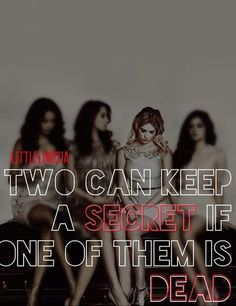 "Pretty Little Liars...i think aria and allison are working together to ""keep a secret""...is aria A?"