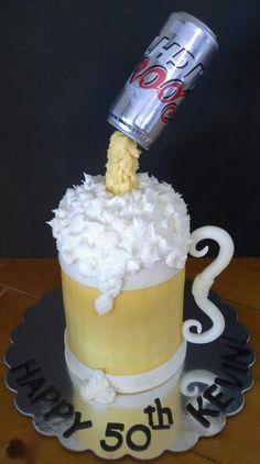Coors Light cake  :)