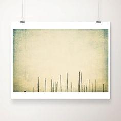 sailing boat photograph boat mast photograph minimalist decor green home decor abstract art sailing boat print travel photography