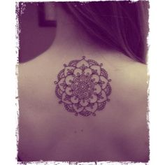 Mandala Tattoo. Something like this for #2