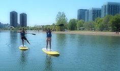 Groupon - 60-Minute Standup Paddle Board Rental at Toronto Adventures Inc. (Up to 20% Off) in Sunnyside Beach. Groupon deal price: C$19.95