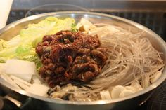시원한 국물 맛......[불고기 떡 전골] – 레시피 | Daum 요리