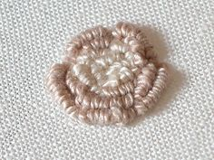 Sarah Whittle - Contemporary Embroidery Artist: Bullion Knot Roses