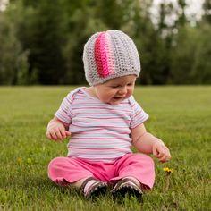 Instant Download Crochet Pattern Pop A Color Beanie di Mamachee
