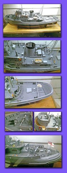 HMAS R.T EMINENT  HARBOR DEFENSE AND GENERAL PURPOSE TUG Purpose, Restoration, Museum, Models, Building, Anime, Art, Templates, Art Background