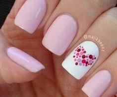 pink w a heart
