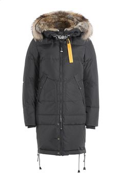 Long Bear Down Parka with Fur-Trimmed Hood - Parajumpers | WOMEN | DE STYLEBOP