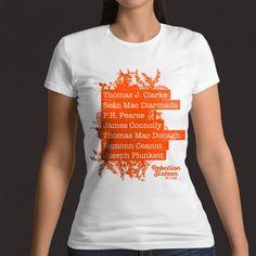 Ladies 1916 T-Shirt Seven Signatories of the proclamation The Proclamation, T Shirts For Women, Mens Tops, Fashion, Moda, Fashion Styles, Fashion Illustrations