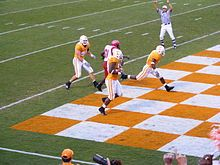 Checkerboard End Zone = TD
