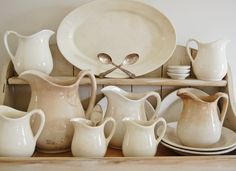 Ironstone pictures | ... the simple lines and the warm, rustic patina that old ironstone gets