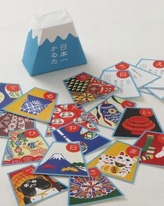 KARUTA - traditional Japanese playing cards