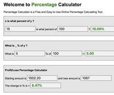 Best Online Percentage Calculator Teacher Notes, Calculator, Solar