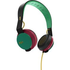 The House Of Marley ROAR Headphones ($30) ❤ liked on Polyvore featuring accessories and tech accessories