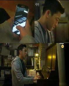 Sun Jae gelisah karena tidak mendapatkan kabar dari Hye Won, akhirnya dia melampiaskan dengan bermain piano.
