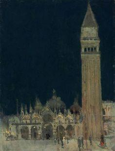 Sickert - The Campanile, Venice