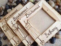 Now this is a really cute idea for bridesmaids gifts
