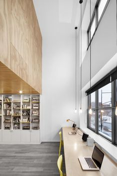 Naturehumaine, In Suspension, Montreal, Canada | desk office space
