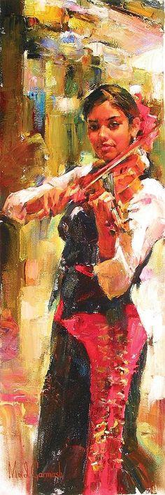 Michael & Inessa Garmash - La violinista