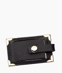 Classic Leather Compact Mirror