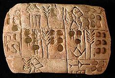 Sumer : The earliest writing was based on pictograms.