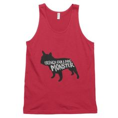 French Bulldog Monster - Classic Tank (Unisex)