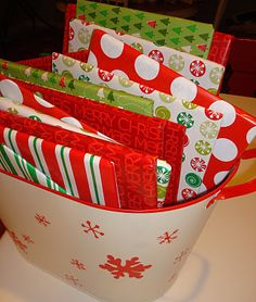 Such a good idea...wrap 24 Christmas books and unwrap one each night during December (and read it of course)