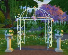 sims 4 gazebo. 2 to 4 princess bliss tie the knot gazebo by biguglyhag at simsworkshop via sims